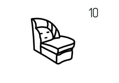 Секция диванная 10, 10А Магнат