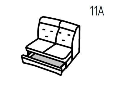 Секция диванная 11А Магнат