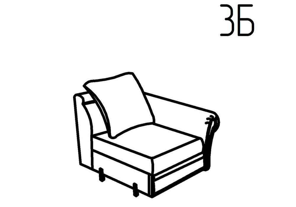 Секция кресельная 3Б, 3В Неаполь