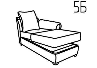 Секция оттоманка 5Б, 5В Неаполь