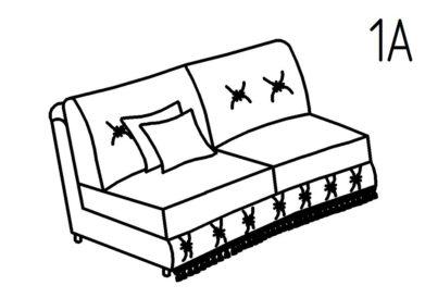 Секция диванная 1А Августа