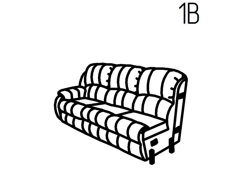 Секция кресельная 1Б, 1В Ченто-Перченто