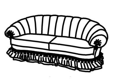 Большой диван 3 Медичи эксклюзив