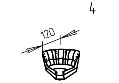 Секция угловая 4 Ченто-Перченто