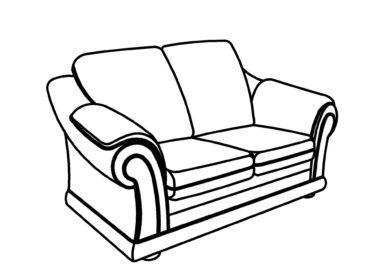 Малый диван Эвелина