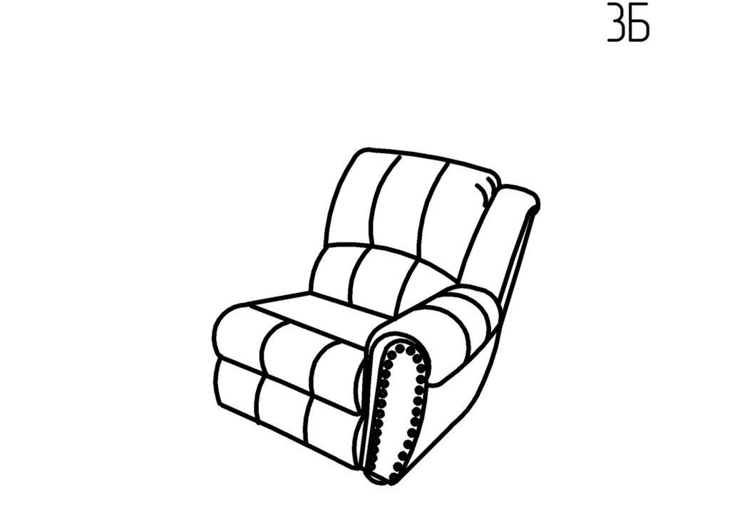 Секция кресельная 3Б, 3В Умберто-Понти